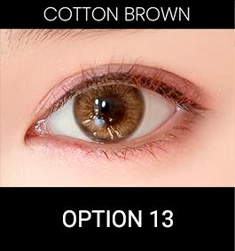 Soela eye cotton brown