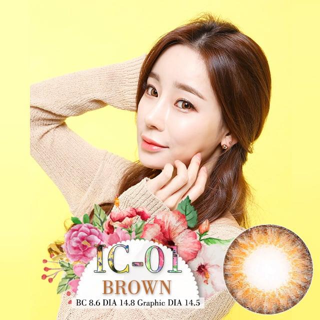 IC-01ブラウン