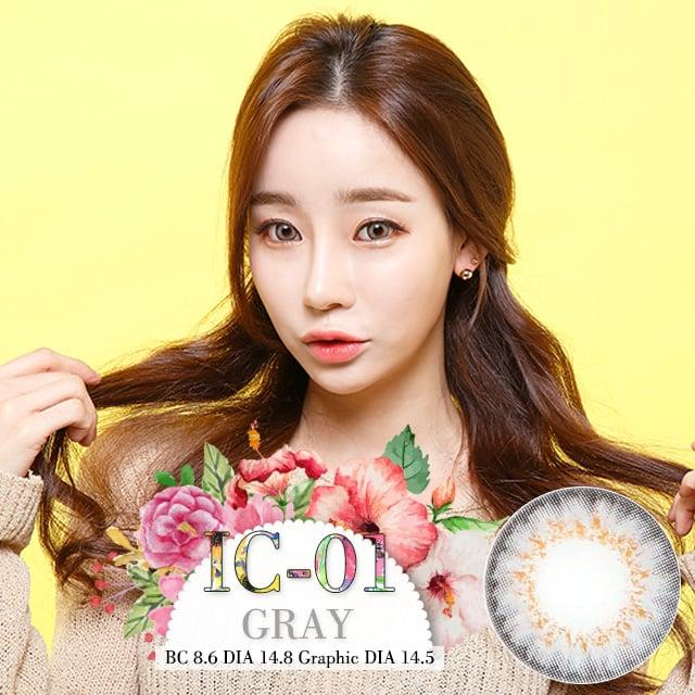 [1年用] IC-01グレー