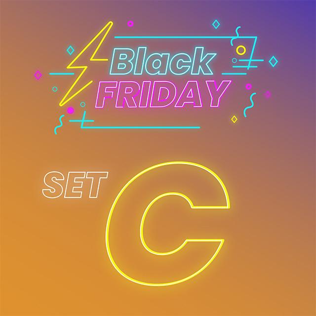 [Black Friday] 2980set C