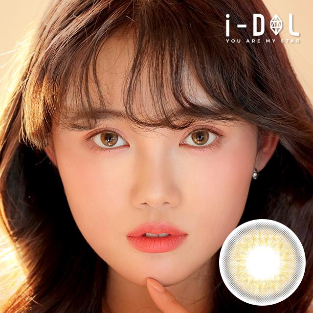 i-DOLレンズ【新商品】SOELAEYE・ソラアイコットンブラウン