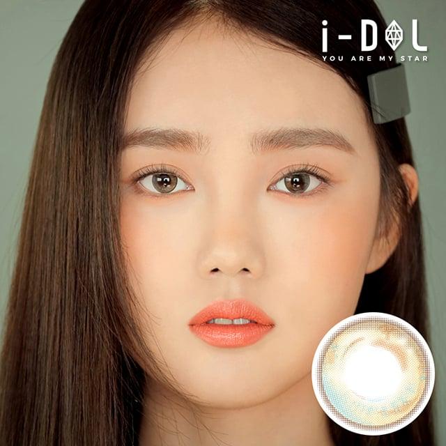 i-DOLレンズ【新商品】ETTE BAGEL LEMON BROWN・エッテベーグルレモンブラウン