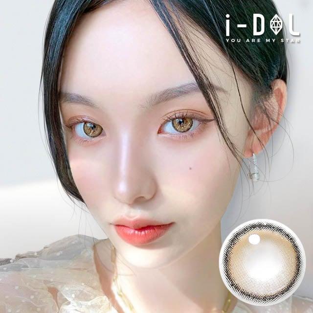 【韓国カラコン】i-DOL ローゼエアリ(Roze Airy)ベージュブラウン