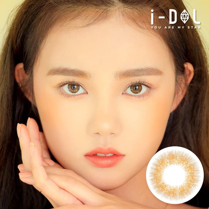 i-DOLレンズ【新商品】i-DOLレンズソラグラムユニクブラウン