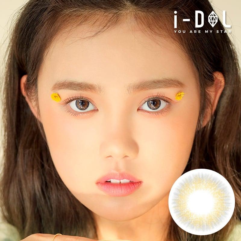 ★NEW★【i-DOL】アイドルレンズソラグラムファッショングレー[ i-DOL SOELA GRAM FASHION GRAY ] 1年用