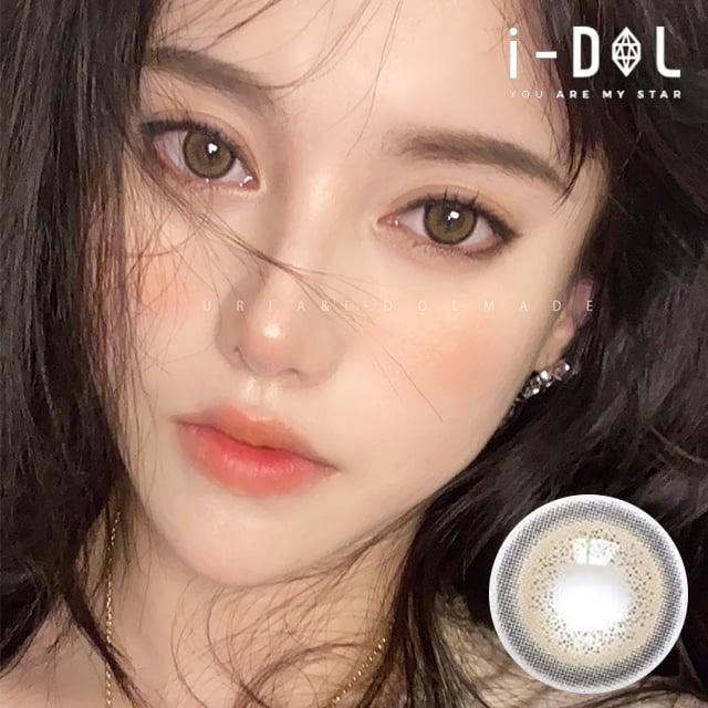 ★NEW★【URIA i-DOL】アイドルレンズメイドスキンベージュ[ MADE SKIN BEIGE ] 1年用