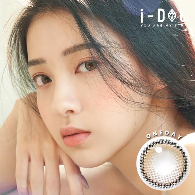 1day 【 i-DOL / URIA 】アイドルレンズ CANNA ROZE 1DAY ベージュブラウン[ idol cannaroze 1day beige brown ] 1日