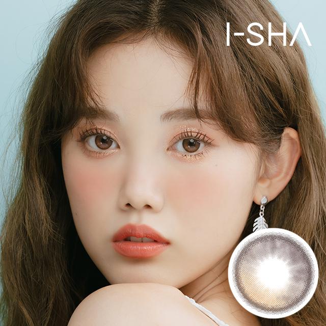 NEW 【 I-SHA・アイシャレンズ 】 ORIANA SHADE BROWN・オリアナシェードブラウン 1ヶ月 14.2mm